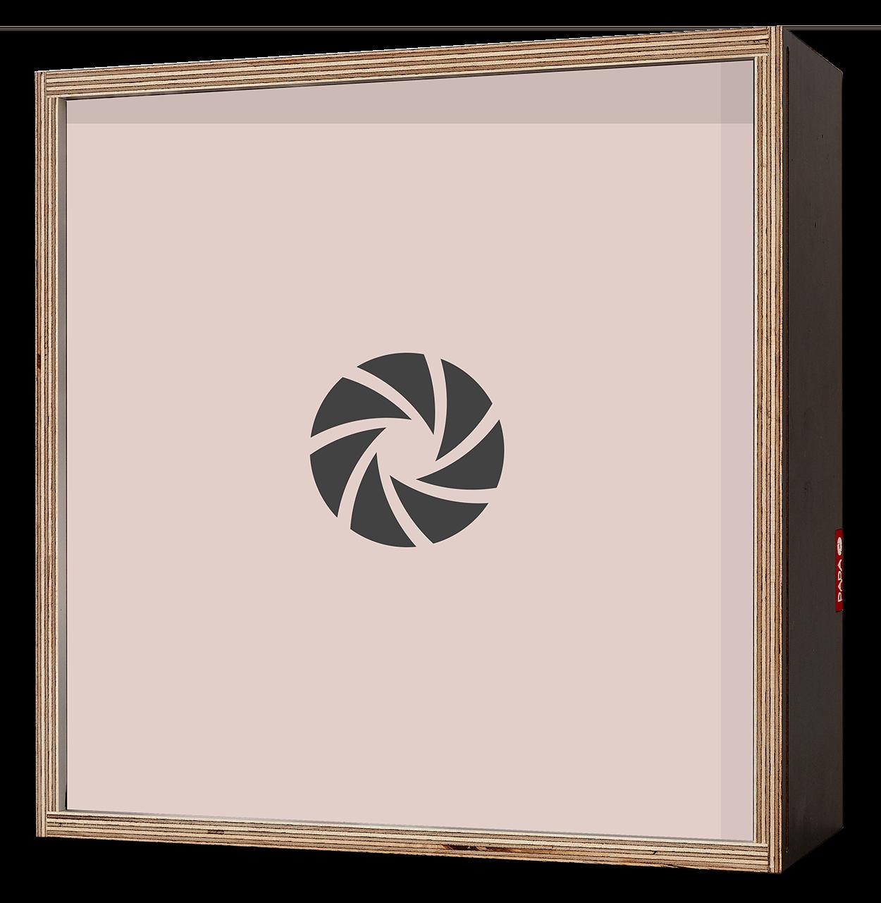 Dada Box 25x25 Noir2