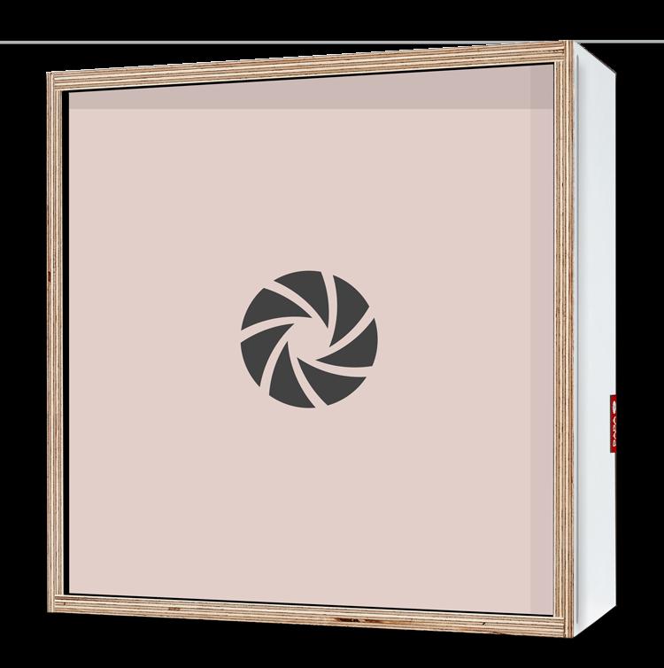 Dada Box 25x25 Blanc2
