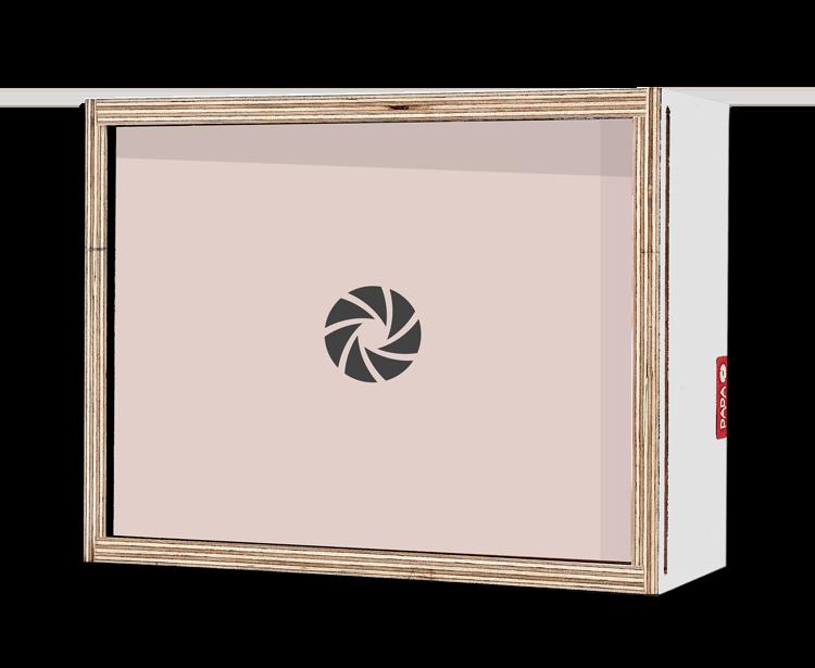 Dada Box 20x15 blanc