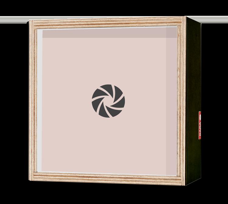 Dada Box 15x15 Noir