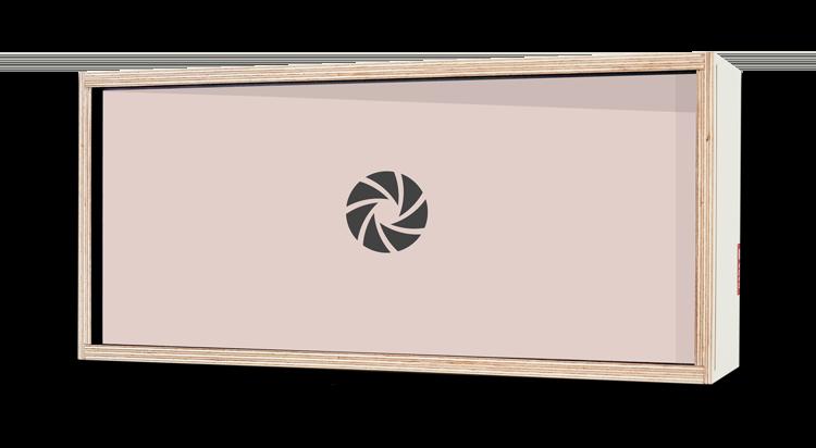 Coffret Cadeaux 35cmx15cm (DADABOX + 1 tirage)
