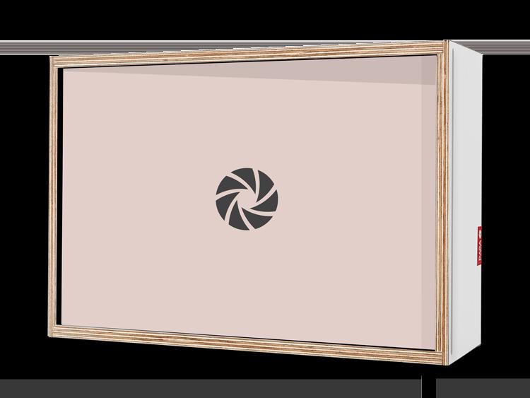 Coffret Cadeaux 30cmx20cm (DADABOX + 1 tirage)
